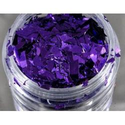 Efekt tłuczonego szkła fiolet