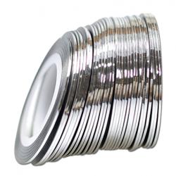 Tasiemka do zdobień silver...
