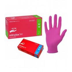 Rękawiczki nitrylowe z...